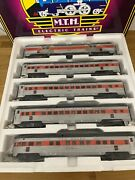 Mth 70and039 Streamlined Passenger New Haven 5 Cars Set 20-65085 New