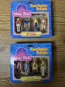 Vintage Disney World Town Square Friends Set Of Two