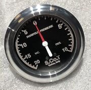 Supercharger Flathead Ford Boost Gauge Blower Vintage Antique Scot Mcculloch