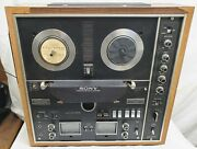 Vintage - Sony - Tc-730 -reel To Reel Recorder / Player -japan -tested - Works