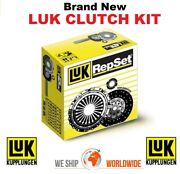 Luk Clutch Kit For Dacia Duster 1.5 Dci 110 2017-on