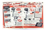 1951 Martin Outboard Motors The New Standard Of Performance Print Ad 087a