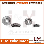 Front And Rear Brembo Coated Oe Brake Rotors Set For Ford Focus 2012-2014