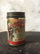 Two Scarce Antique Slippery Elm Food Tins