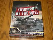 Compass Games Triumph Of The Will - Nazi Germany Vs Imperial Japan Unpunched