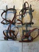 Vtg Salewa Mountain Ice Climbing Spikes Crampon 12 Point Adjustable West Germany