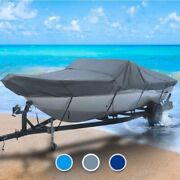 Renken All Weather 30 Boat Coverand0396 L X 120 W Gray Outdoor Custom Fit Fishing
