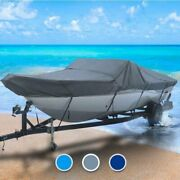 Ab Inflatable All Weather 15 Boat Coverand0396 L X 72 W Gray Outdoor Trailerable
