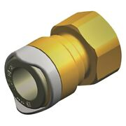 Whale Brass Female 1/2 To 15mm Adapter
