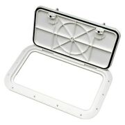 Bomar 8000 Series 28-3/8 X 11-3/8 Off-white Low Profile Inspection Hatch
