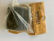 New Newell Reel Part Sc-40 Rod Clamp Graphite - 400 And 500 Series - 4 Screw Type