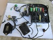 Honda Bf90 Outboard Wiring Harness - Control Relay - Voltage Regulator - Parts