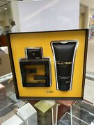 Fan Di Fendi Pour Homme Set 3.4/ Edt Spray+100/ml As/ Discontinued Brand New Set