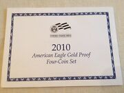 Coa For 2010-w American Eagle Gold Proof Set. Coa Only No Coins Or Other Ogp