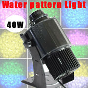40w Water Pattern Stage Light Party Outdoor Dynamic Led Rotating Gobo Projector