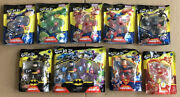 Lot Of 10 Different Brand New Heroes Goo Jit Zu Marvel And Dc Super Heroes