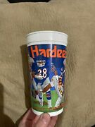 1992 Hardees Monday Night Football Cup Nfl Schedule Chicago Bears Kc Chiefs