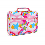 Kids Bible Covers For Girls Bible Carrying Cases Carrier With Pockets Handle Bag