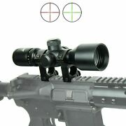Wlt 3-9x40 Hunting / Tactical Rifle Scope Mil-dot Illuminated - Compact 7.5