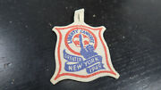 R 1949 Boy Scouts Greater New York Felt Liberty Camporee Patch Hanging