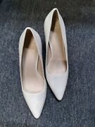 Cole Haan Grand Os Soft Off White Leather Classic Formal/work Heels Pumps Us 8 B
