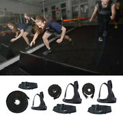 Heavy Duty Sled Workout Harness Tire Pulling Strap Football Workout Equipment