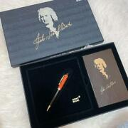 Mont Blanc Popular Writer Series Beethoven Ballpoint Pen Rare With Ink