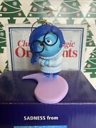 Inside Out Sadness Grolier Christmas Presidents Edition Ornament New In Box