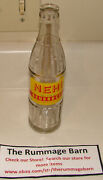 Vintage 40s Nehi Beverages Acl Glass Bottle Soda -- 9 Oz -- Rare -- Hastings Neb