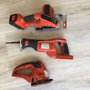 18v Black And Decker Fire Storm Tool Set With Battery -no Charger