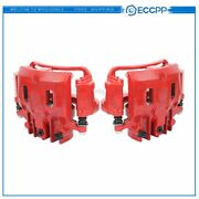 Rear Pair Brake Calipers For 2000 2001 2002 2003 2004 Ford Excursion F250 F350