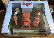 Disney Store Exclusive Pixar Cars Tractor Tipping Deluxe Set Ultra Rare Sale