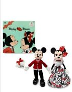 Disney Mickey And Minnie Mouse Limited Edition Valentines Day Doll Set Confirmed