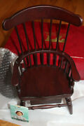 American Girl Doll Felicity's Windsor Writing Chair Inkwell Pen Desk Plus Cards