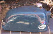 Rare And Vintage 1967 Greeves Challenger Motorcycle Gas Fuel Tank Great Britain