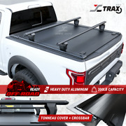 For 2014-2020 Ford F150 5.5and039 Truck Bed Retractable Tonneau Cover+t-slot Crossbar