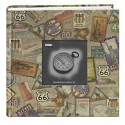 Pioneer Photo Albums Da-200map/ts 200-pocket Photo Album With Printed Travel Andhellip