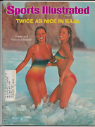 Sports Illustrated Magazine January 19th 1976 Swimsuit Issue Yvette + Yvonne Nm