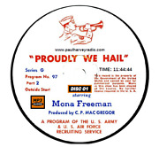 Proudly We Hail 478 Shows Old Time Radio Mp3 18 Cd's