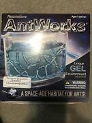 Antworks Illuminated Blue Gel Led Ant Farm Environment Fascinations New Open Box