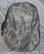 Usaf Air Force Abu Tiger Stripe Molle Oval Double Zipper Medic First Aid Pouch