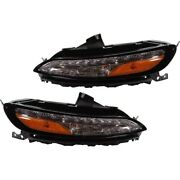 Pair Set Of 2 Turn Signal Lights Lamps Left-and-right Lh And Rh For Jeep Cherokee