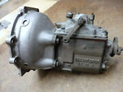 Mercedes 220s/se Ponton Genuine Transmission Assembly With/ Bell Housing Nice