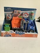 Blippi Talking Recycling Truck Garbage Recycle Vehicle New Condition