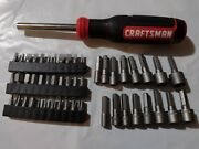 Craftsman Hand Tools 90 Pc Magnetic Torx Handle Screwdriver / Nut Driver Set