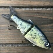 Fom Lures Glide6 Jointed Swimbait Slow Sinking Glide Bait Usa Made Select Color