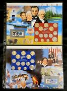 Postal Commemorative Society - 2010 - Complete Uncirculated Pandd Us Mint Sets