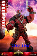 Hot Toys Vgm35 1/6th Marvel Contest Of Champions Venompool Figure Stock Toys