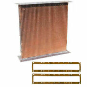 New Af1321r Radiator Core W/ Gaskets Fits John Deere Tractor G 70 720 730 Gas