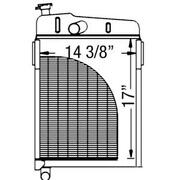 New 1111-5419 - Radiator Shell Fits Ford/fits New Holland